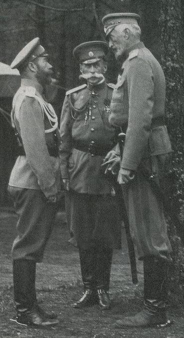 Николай второй и ВК Николай Николаевич