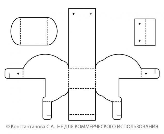 Как сделать из бумаги своими руками схемы шаблоны 82
