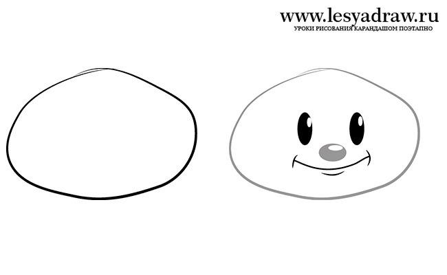 Рисовать чиполлино поэтапно