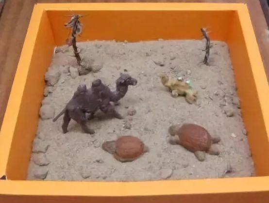Как сделать макет пустыни - Дела