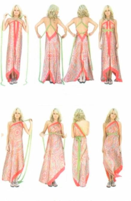 Сшить пляжное платье своими руками быстро и без выкройки 350