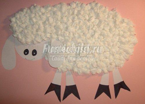 Как сделать овца своими руками