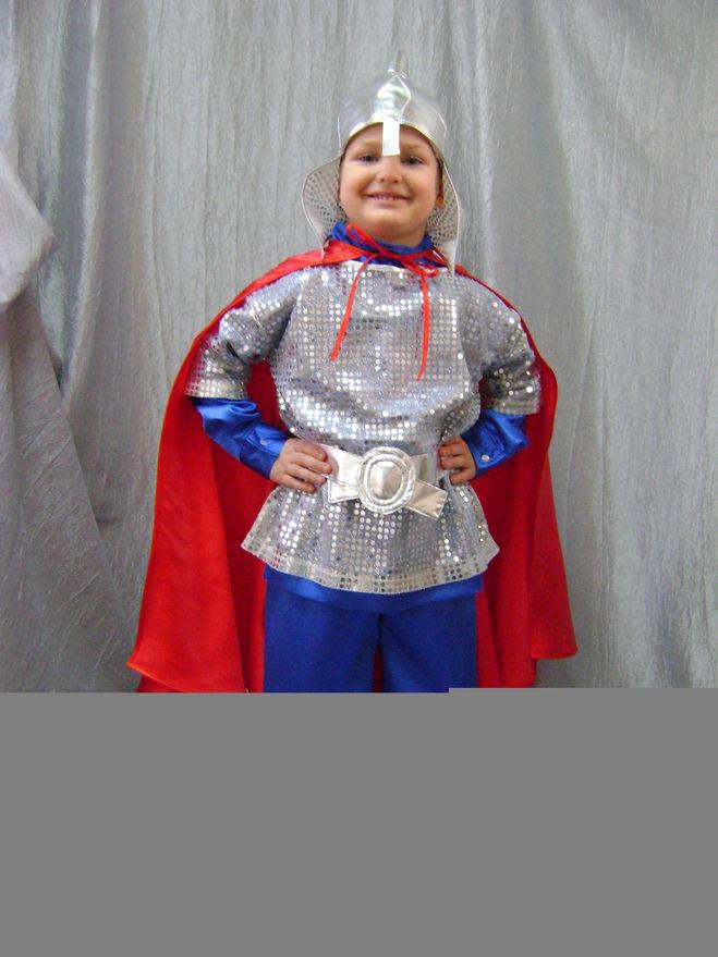 Детский костюм богатырь своими руками