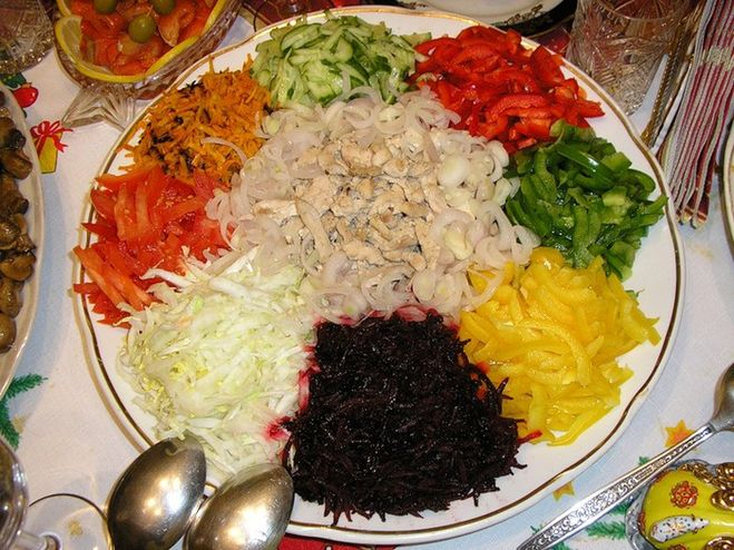 Рецепт салат коза
