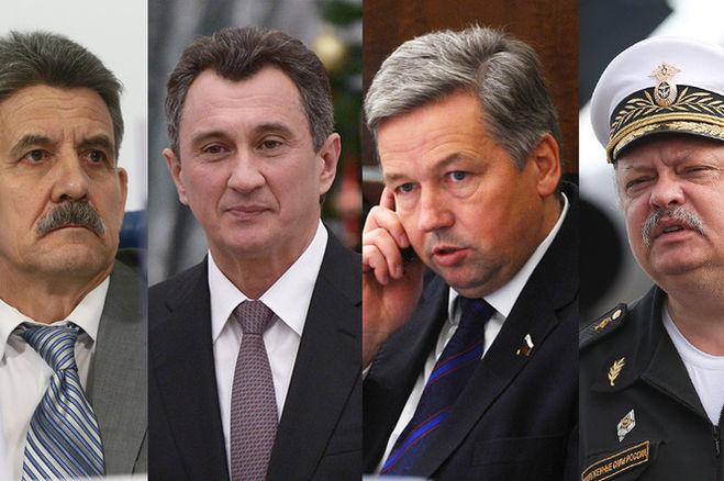 Василий Христофоров, Константин Котенко, Александр Савенков и Александр Фисун (слева направо)