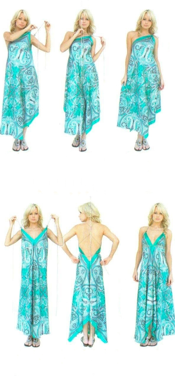 Сшить пляжное платье своими руками быстро и без выкройки 111