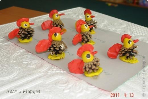 Как сделать из пластилина цыпленка фото 343