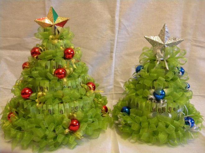 Как сделать сладкую елку своими руками
