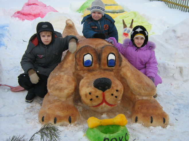 Детский сад конкурс на самую смешную фигуру