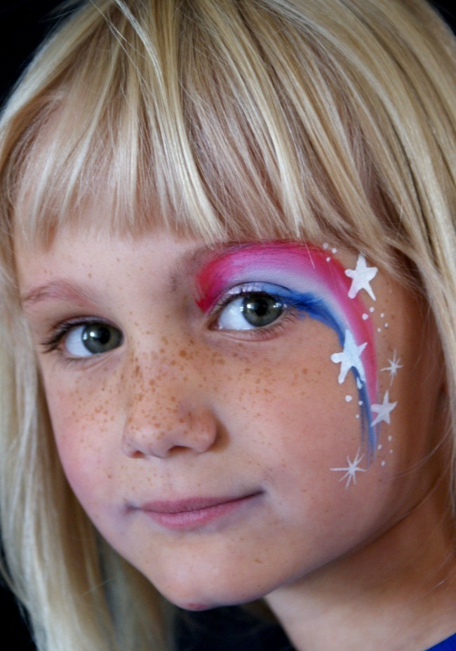 Simple face painting ideas for cheeks