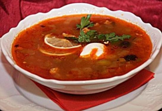 второе блюдо солянка рецепт