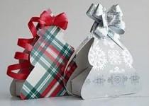 Упаковка для новогодних подарков 2017 своими руками