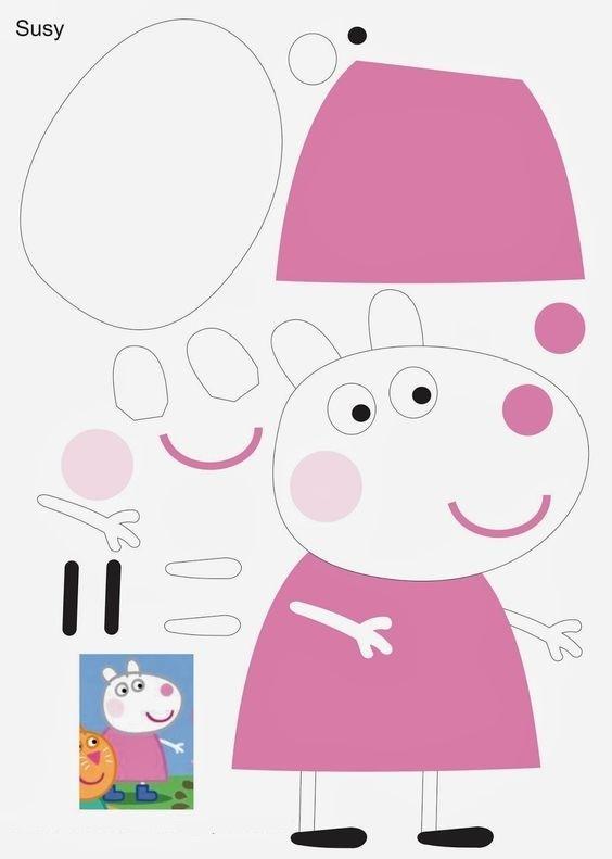 Как сделать игрушку свинку пеппу