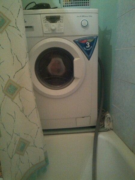 Как в ванной сделать слив от стиральной 360