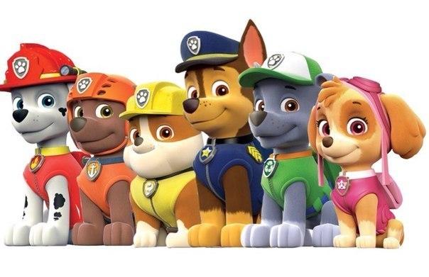 Как нарисовать собак из мультфильма Щенячий патруль карандашом поэтапно?