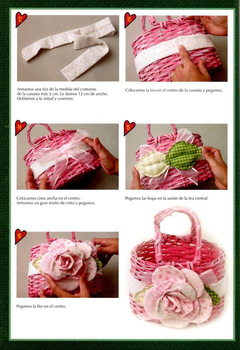 Топиарий, букет роз из листьев и другие осенние поделки 40