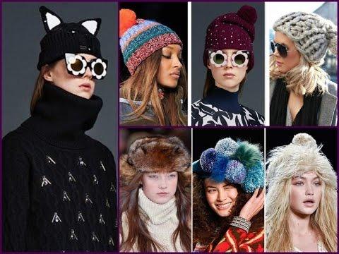 тренды модные шапки осень зима весна 2016 2017