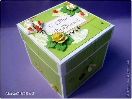 Как сделать подарочную коробку на день рождение