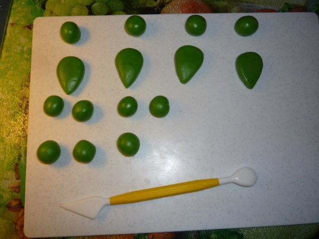 Как сделать черепашку ниндзю из мастики