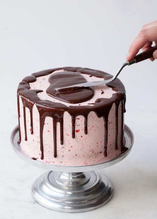 Как сделать стекло на торт