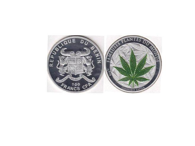 100 франков Бенин 2010