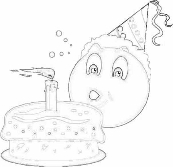 Открытки рисунки день рождения 49