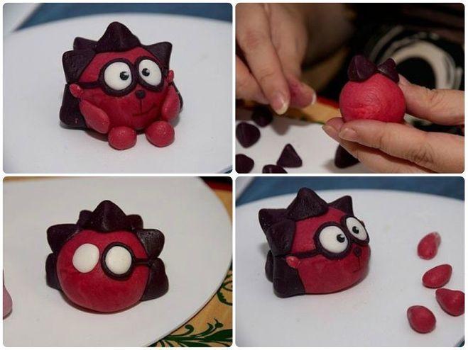 Смешарики как сделать их из пластилина поэтапно