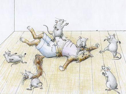 жуковский как мыши кота хоронили читать онлайн