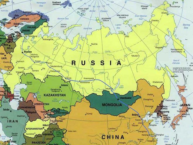 Пересечение границы России и Монголии Планета Монголия