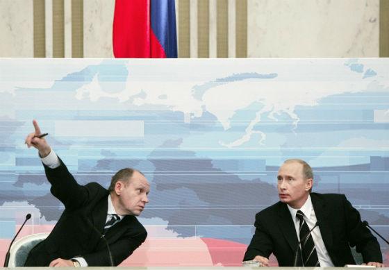 Путин; Владимир Путин; Президент России; Пресс-секретарь; Громов; Алексей Громов