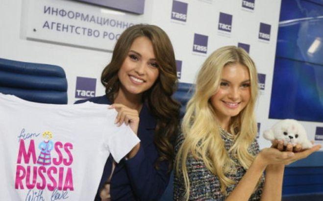 ксения александрова мисс вселенная и полина попова участница мисс мира 2017