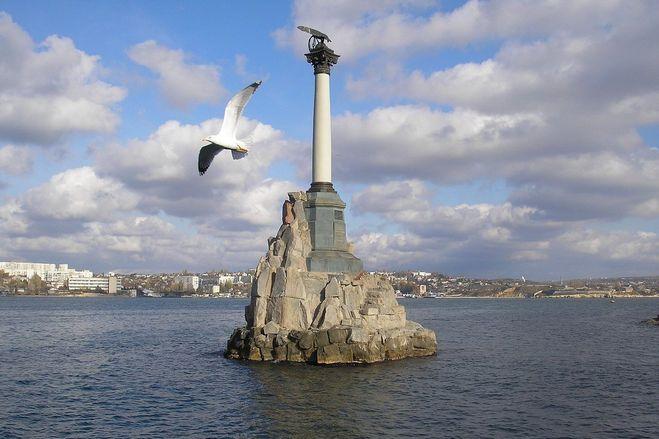 Севастополь - Памятник затопленным кораблям