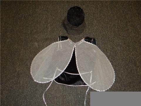 Как сделать крылья для костюма мухи