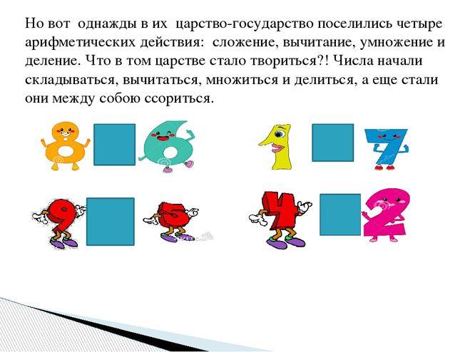 Математическая сказка - проект в 3 классе : Это интересно!