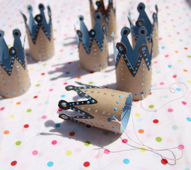 Корона для принцессы своими руками из картона