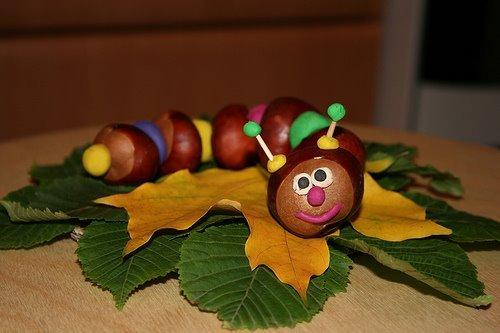 Поделки в детский сад осень картинки