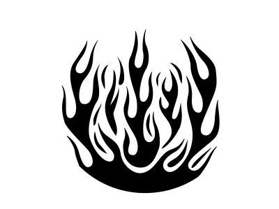 как рисовать огонь 2