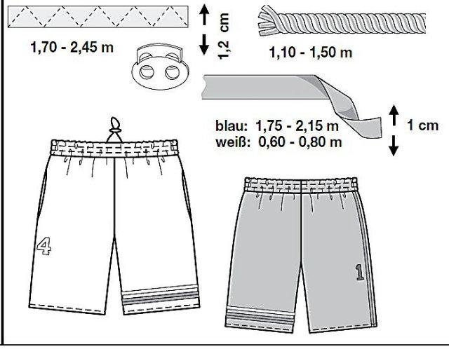 Сшить шорты на девочек 97