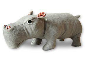 мягкая игрушка бегемот шитье