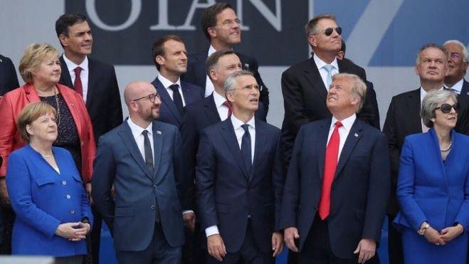 Саммит НАТО в Брюсселе 2018
