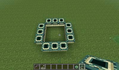 как построить портал в энд видео