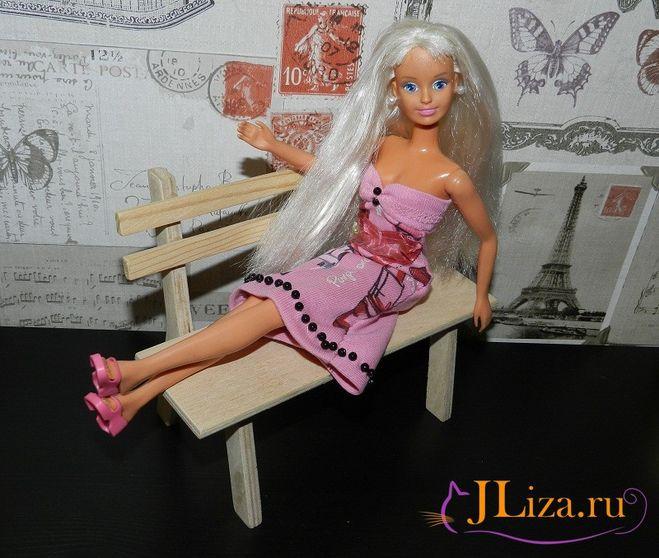 платье для куклы своими руками