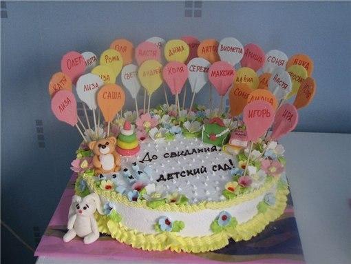 Как и чем украсить детский торт своими руками фото 2