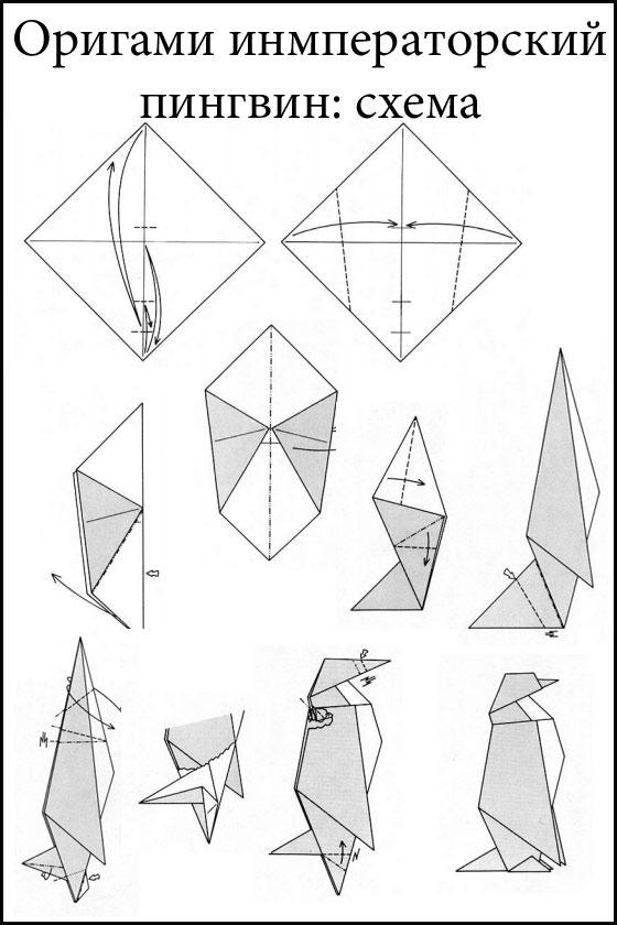 Как делать оригами из бумаги для начинающих