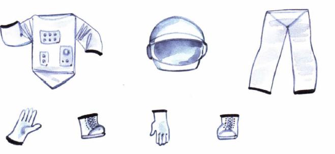 одеть мальчика космонавта 3