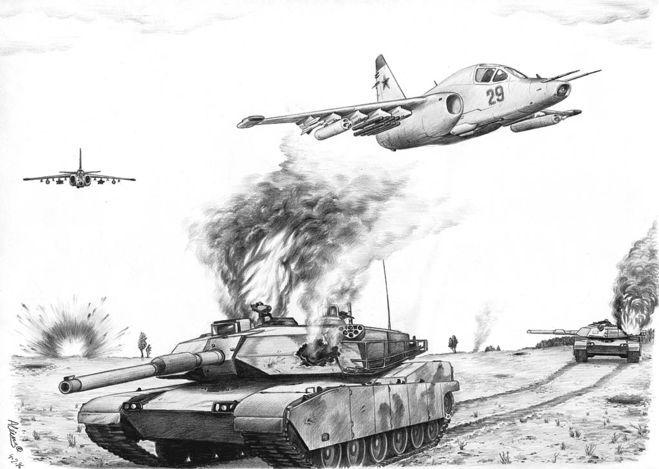 рисунок  о Великой Отечественной войне