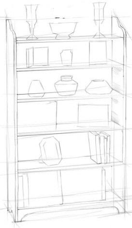 Рисуем шкаф 2
