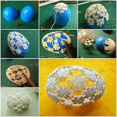 яйца на Пасху квиллинг