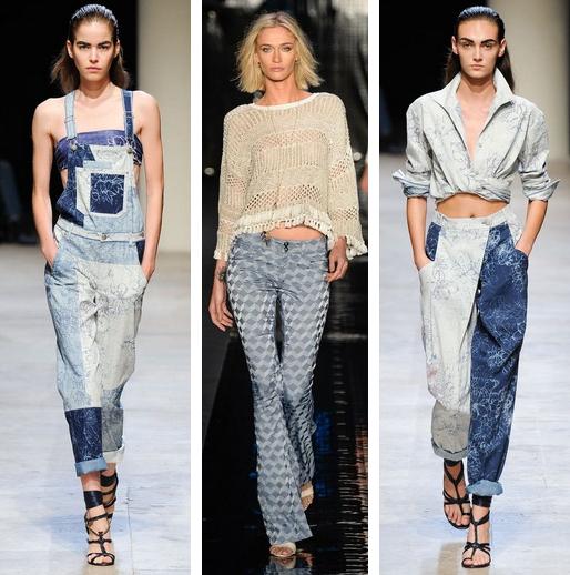 Модные Тренды В Джинсовой Одежде Для Полных