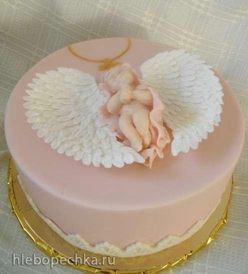 Торт свадебный 33
